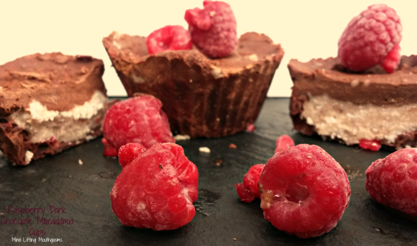 Final Dark Chocolate Raspberry Macadamia Cups Mind Lifting Mouthgasms