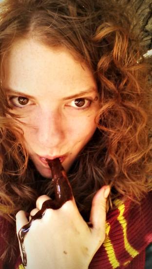 Finger Licking Melting Chocolate