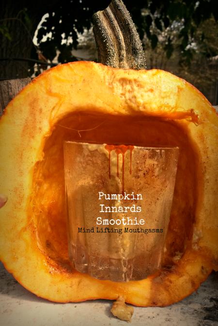 Pumpkin Innards Smoothie