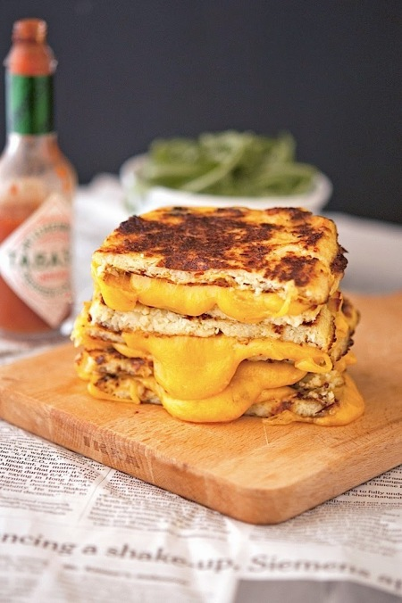 Cauliflower Crust Grilled Cheese The Iron You