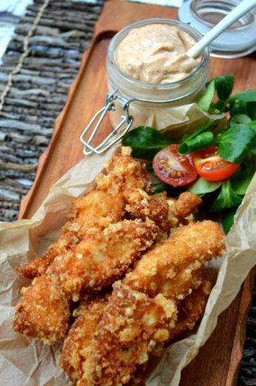 Pickle Brined Fried Chicken Primative Pallet