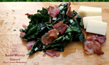 Final Bacon Wilted Greens